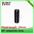 china board lens 25mm F2.0 M7 lens supplier telephoto