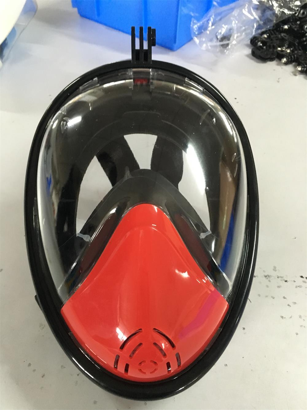 full face snorkel mask for gopro diving underwater camera 3