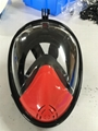 full face snorkel mask for gopro diving underwater camera