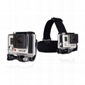 shenzhen factory low price GoPro Head strap Mount, action Camera Mount  4