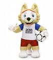 Zabivaka забивака, чемпионат мира по футболу, Чм2018