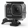 gopro hero 8 black accessories accesorios 40M waterproof case diving housing
