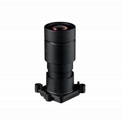 YTOT 6mm m16 super startlight black light F1.0 4MP cctv camera lens 1/1.8'' ICR