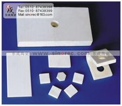Wearable ceramics/bear-milling ceramic board