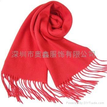 深圳羊毛围巾定制 4