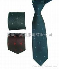 涤纶提花领带