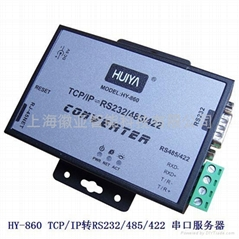 HY-860   TCP/IP轉RS232/485/422