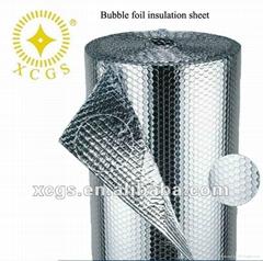 管道保温新型材料双面铝箔单面气泡