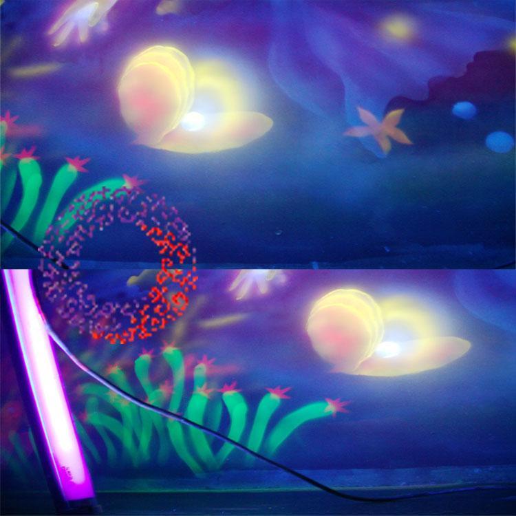 紫光隐形颜料荧光颜料梦幻天使颜料 4