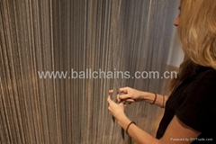 Aluminum ball chain screen