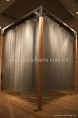 Aluminum ball curtains