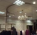 Copper ball chain curtain screen