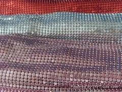 Aluminum metallic fabric 4mm