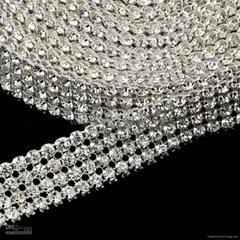Crystal Rhinestone Mesh