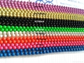 Powder coated color ball chain
