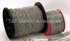 Bead chain on spool