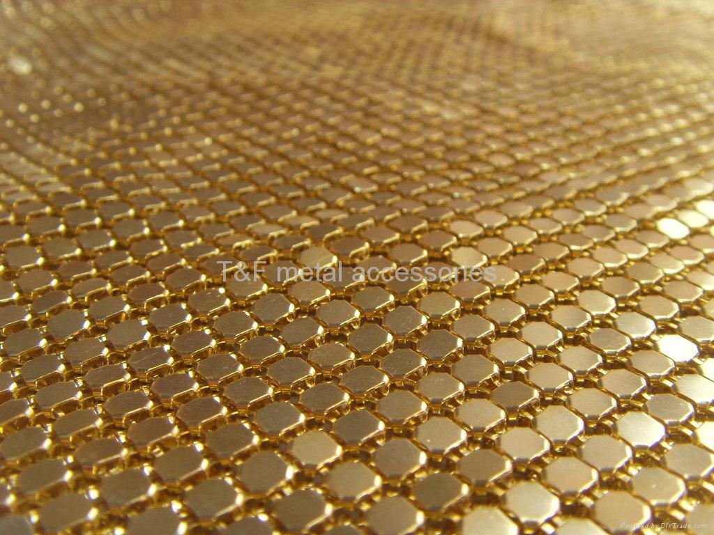 metallic cloth,metal mesh fabric,metallic mesh,gold metal mesh,brass meatal metal mesh,