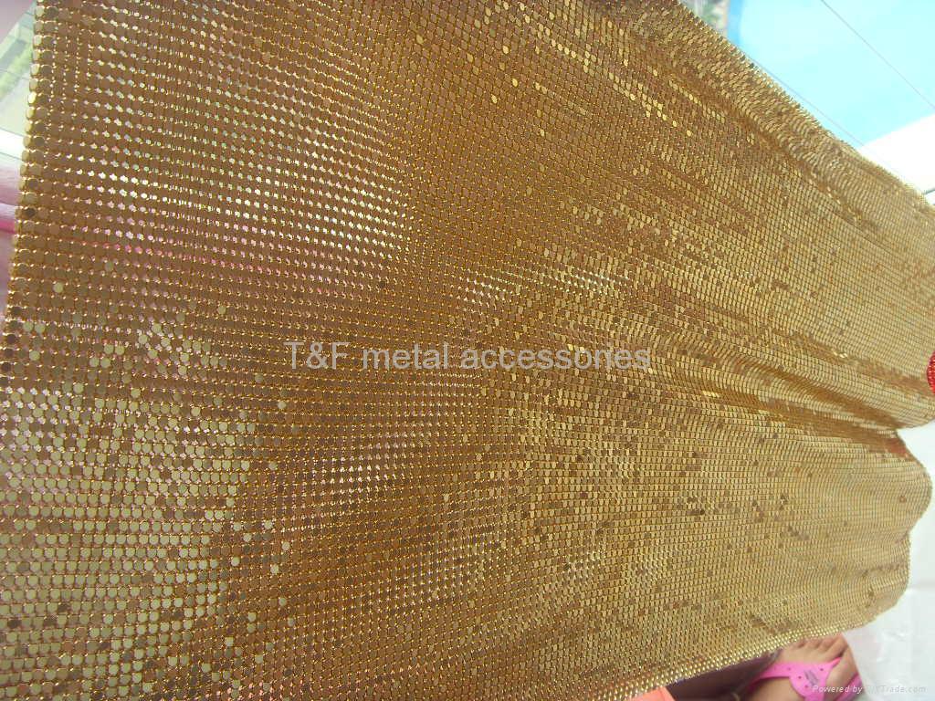 metallic cloth,metal mesh fabric,metallic mesh,gold metal mesh,brass meatal metal mesh