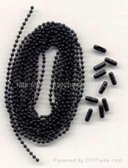 Black ball chain
