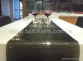 Aluminum mesh table runner