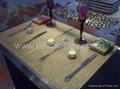 Metallic table sheet