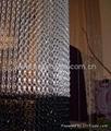 Aluminum chain screen