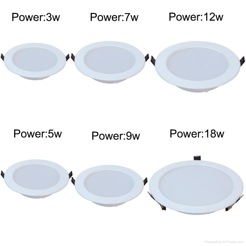 high power led downlight led ceiling light led ceiling lamp 2
