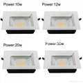 high power led downlight led ceiling light led ceiling lamp 5