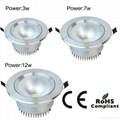 high power led downlight led ceiling light led ceiling lamp 6