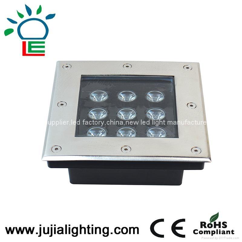 RGB 9W  underground Lights,led underground lamp,led inground light,  1