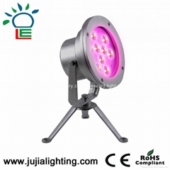 9w underwater led light,led pool light,fountain lights,underwater lighting