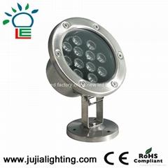 JU-4007-9W  underwater lighting,fountain lights, 9W underwater led lights