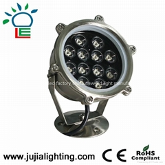 JU-4008-9W led pool light,fountain lights,underwater lighting
