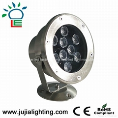 18W underwater lighting,fountain lights, underwater led lights