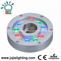12w underwater lamp, swimming pool lights,led  fountain lights