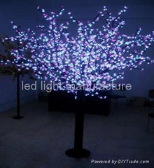 LED桃花灯,LED树灯,道路装饰灯