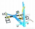frame machine for collision repair shop