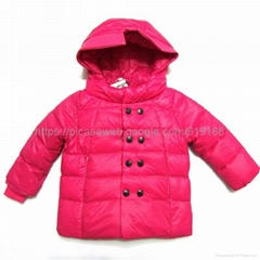 girl  monclear  down jacket for winter 2 to 10 year