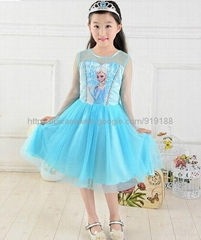 offer  frozen  anna dress  2014  princess  dress  for kids