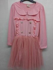 wholesale  autum  dress  girl  dress long sleeve   4  to 9 years
