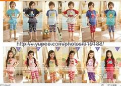 original band  top quality  Gleoite Wardrobe(GW84)  pajamas  for children