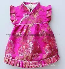offer  chi-pao or cheong-sam  dress  for baby