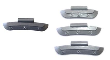 zinc clip-on wheel weight