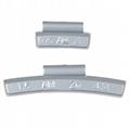 zinc clip on wheel weight ounce unit