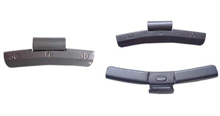 Fe clip on wheel weight for alinimum rims