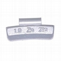 Zinc clip-on wheel weights for alloy rims( ounce)