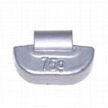 Lead clip-on wheel weight for TRUCK  wheel rims