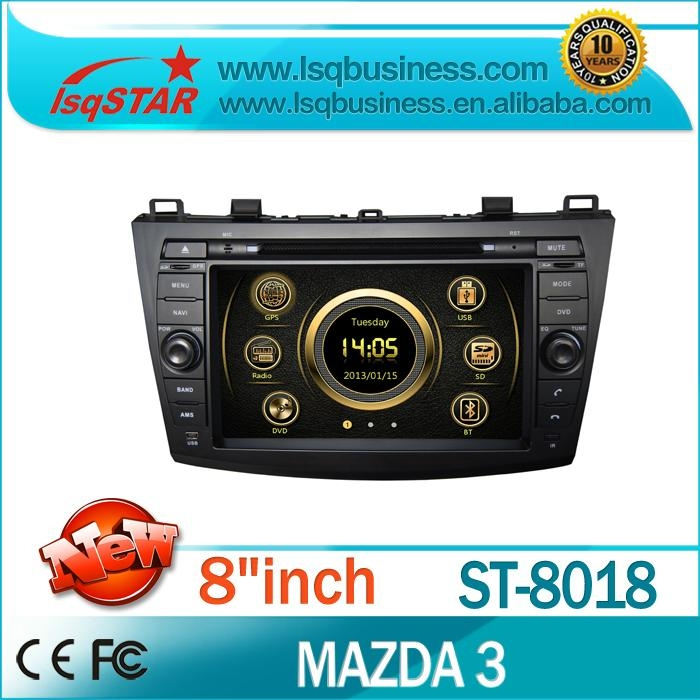 In dash Car DVD Player For Mazda 3 2010- Car Radio with GPS,BT,Radio,3G! 1
