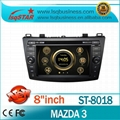 In dash Car DVD Player For Mazda 3 2010-