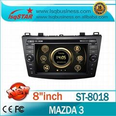 In dash Car DVD Player For Mazda 3 2010- Car Radio with GPS,BT,Radio,3G!